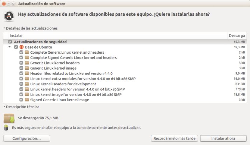 Actualizacion Kernel Ubuntu