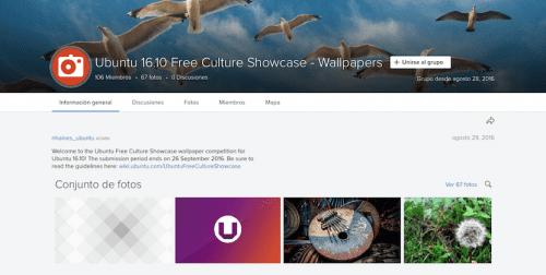 Concurso de fondos de escritorio de Ubuntu 16.10