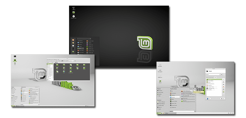 Entornos gráficos de Linux Mint