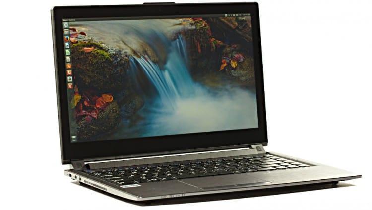 Ubuntu en una laptop