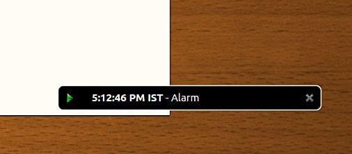 focuswriter-alarm