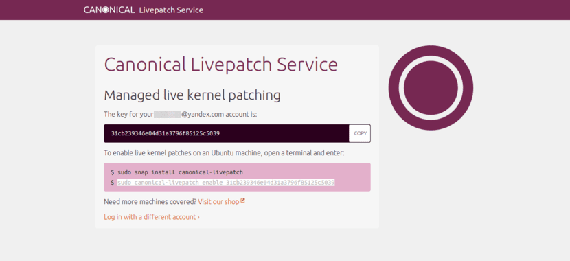 Canonical Livepatch Service