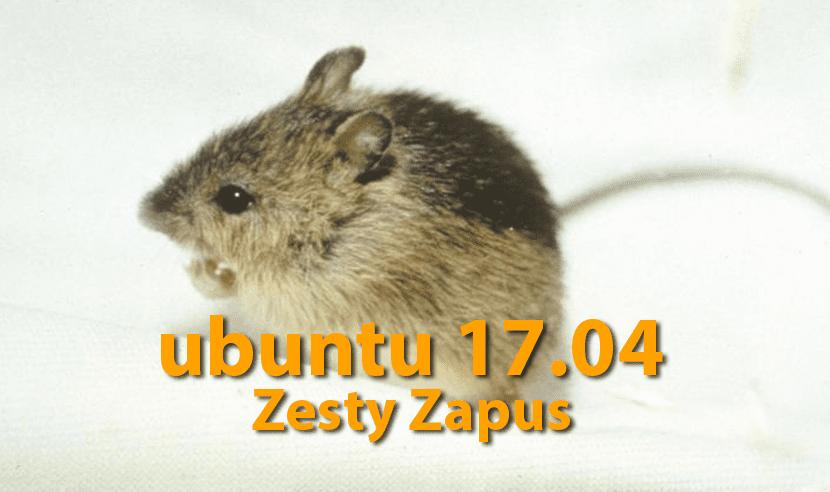 Ubuntu 17.04 Zesty Zappus
