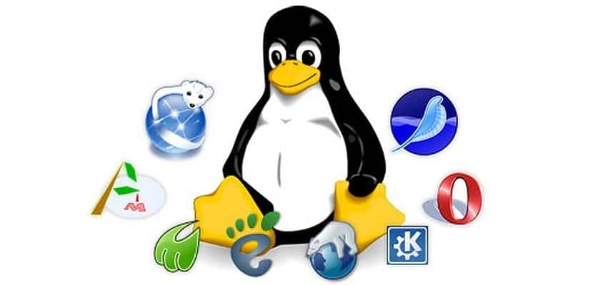 navegadores linux