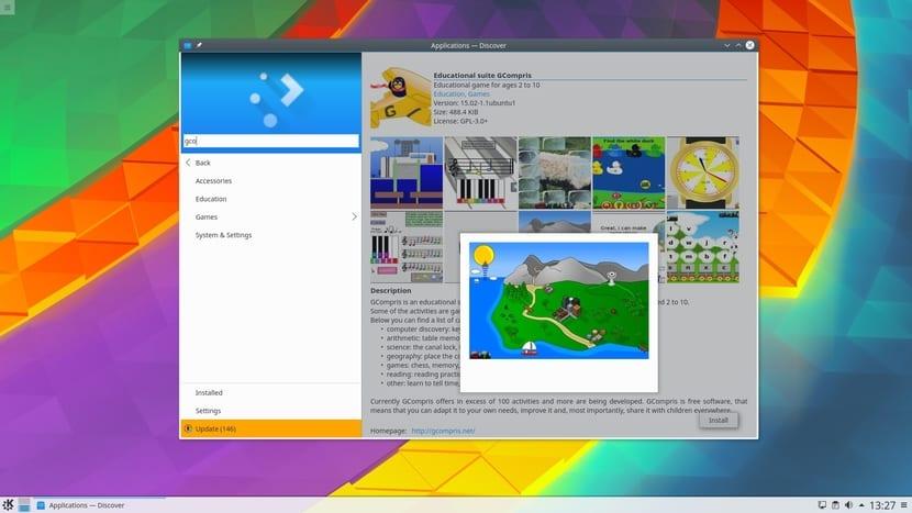 KDE Plasma 5.8.4 LTS