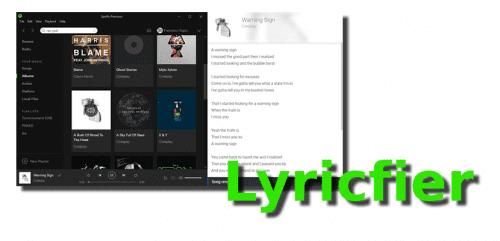 Lyricfier