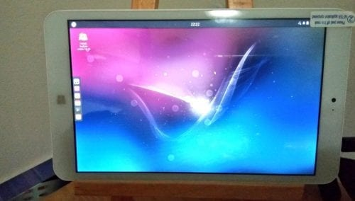 Tablet con Ubuntu Budgie