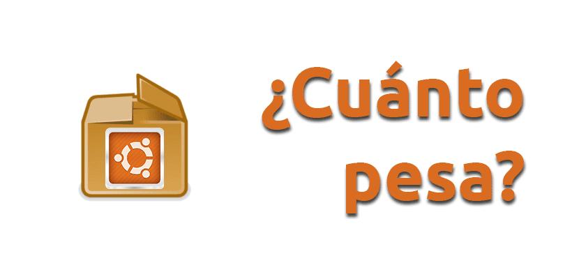 Averiguar tamaño app Ubuntu