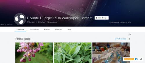 Concurso de fondos de Ubuntu Budgie