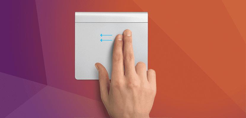 Gestos multitáctiles de Mac en Ubuntu