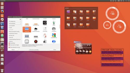 Screenlets en Ubuntu