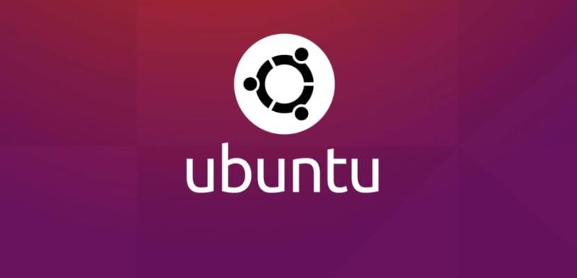 Fondo con logotipo de Ubuntu