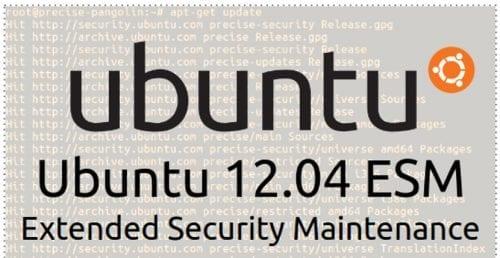 Ubuntu 12.04 ESM