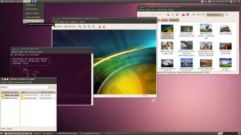 Aplicaciones en ubuntu