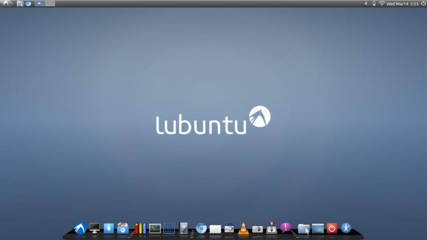Lubuntu con Cairo Dock