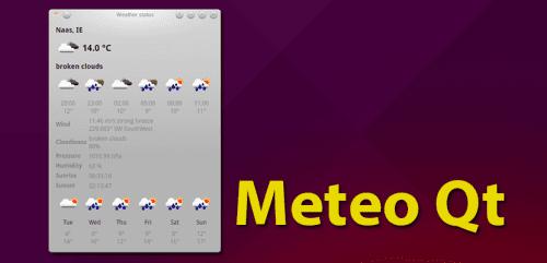 Meteo Qt