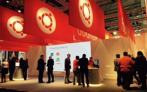 Stand de Ubuntu en MWC 2017