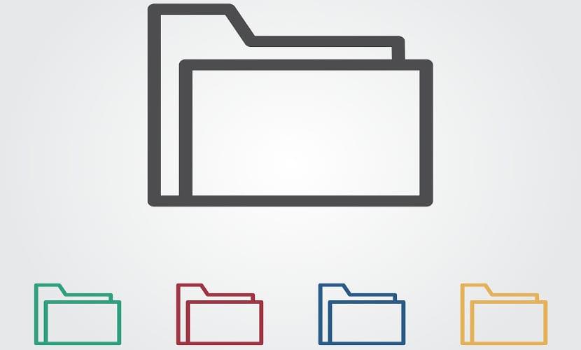 Imagen de carpetas clasificadoras digitales