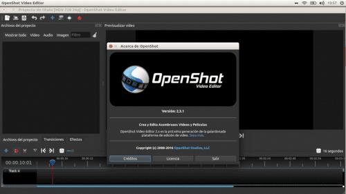 OpenShot 2.3.1