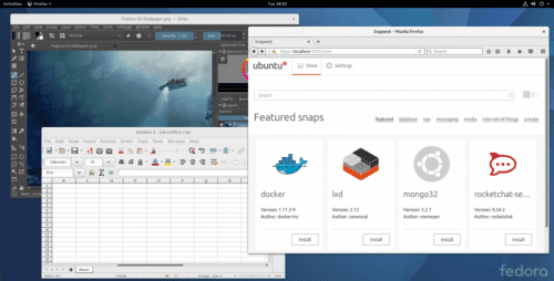 Paquetes Snap en Fedora