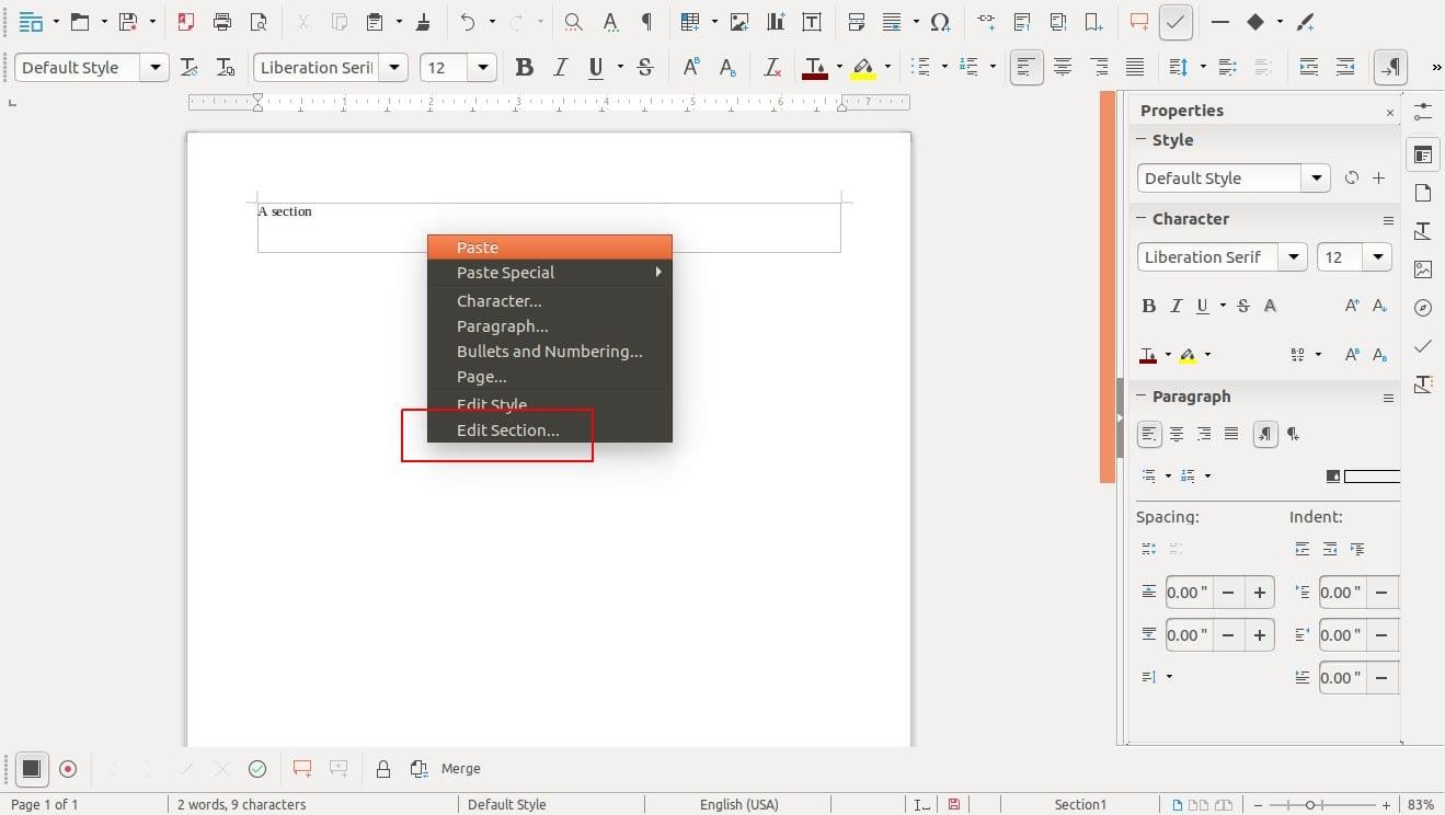 LibreOffice 5.4