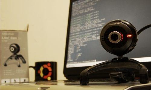 Webcam funcionando con Ubuntu.