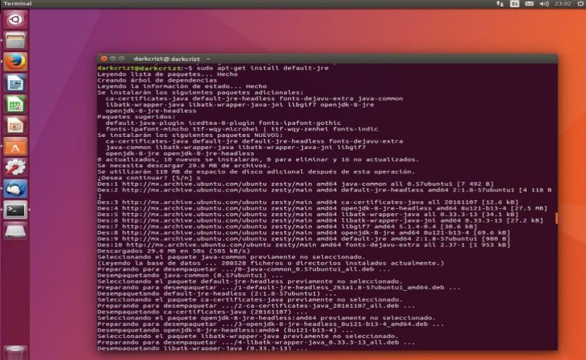 Instalando Java en Ubuntu