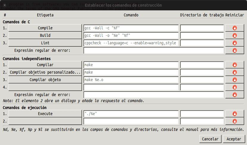 manual de geany