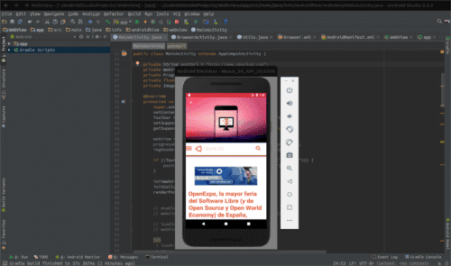kvm acelera el emulador android studio