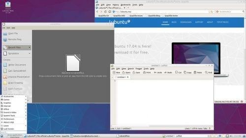 Lubuntu con LXQT