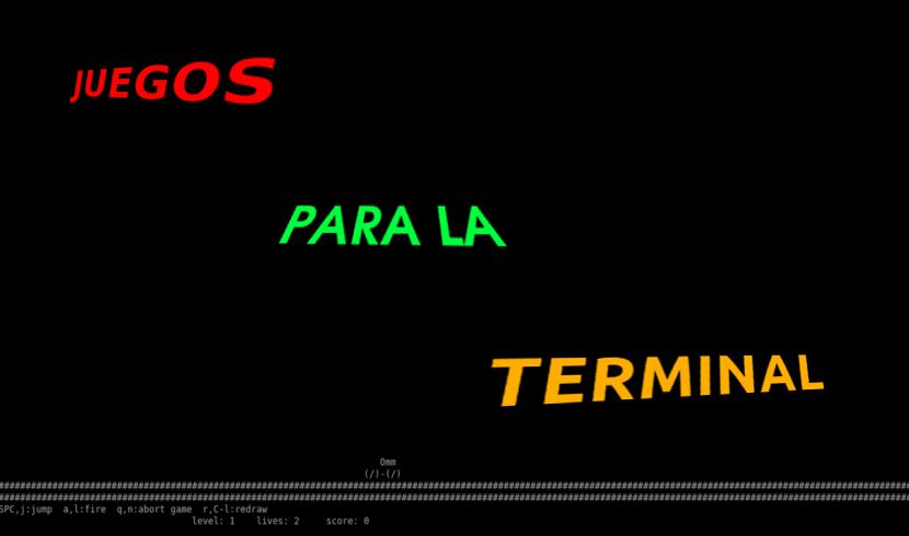 Juegos para la terminal