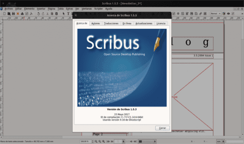 About Scribus