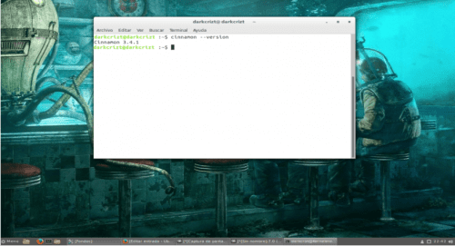 Cinnamon 3.4 en Ubuntu 17.04