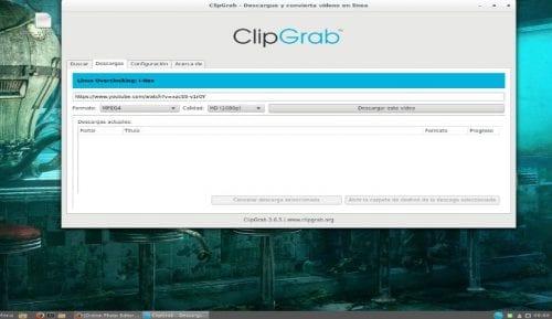 ClipGrab Descargar video de Youtube