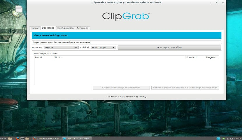 ClipGrab Descargar video de Youtube