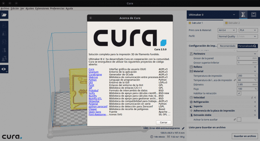 About Cura 2.X