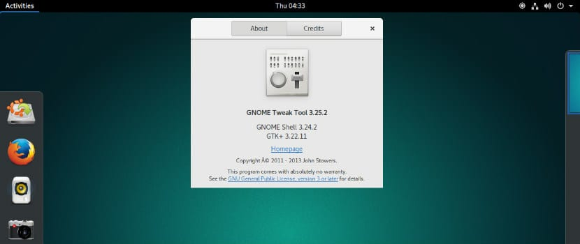 Gnome Tweak Tool 3.52.2