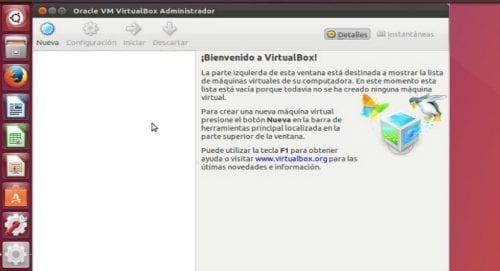 VirtualBox en Ubuntu 17.04