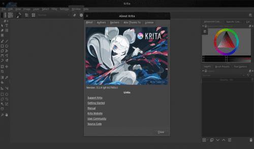 about Krita