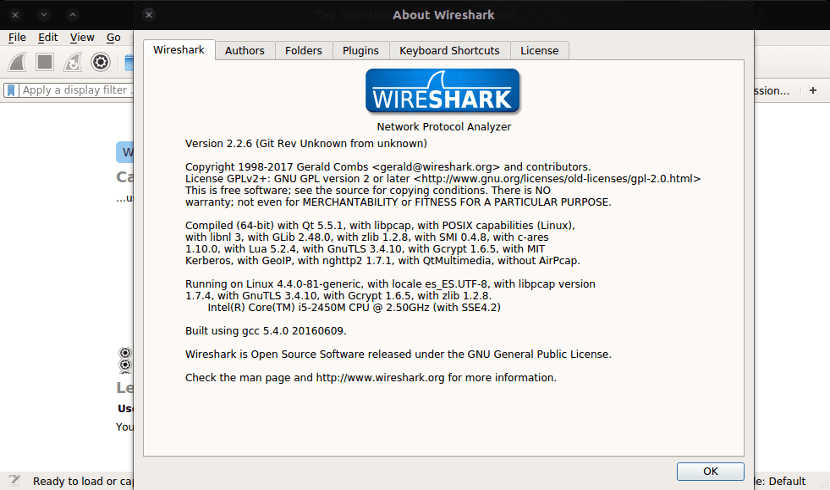about wireshark 2.2.6