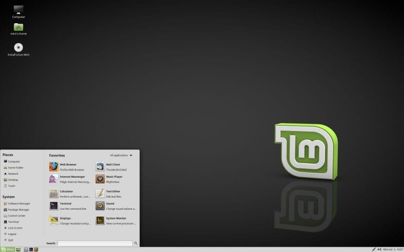 """Linux Mint 18.2 """"Sonya"""" MATE"""