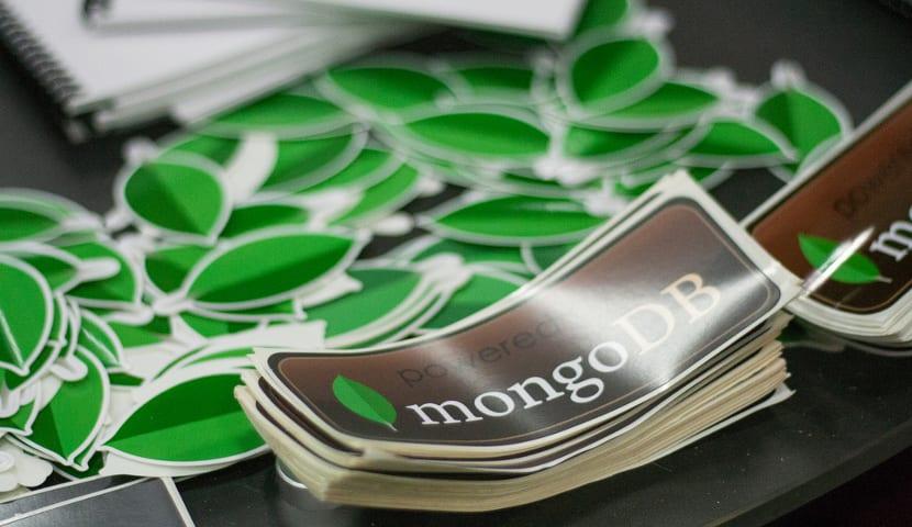 Pegatinas de MongoDB