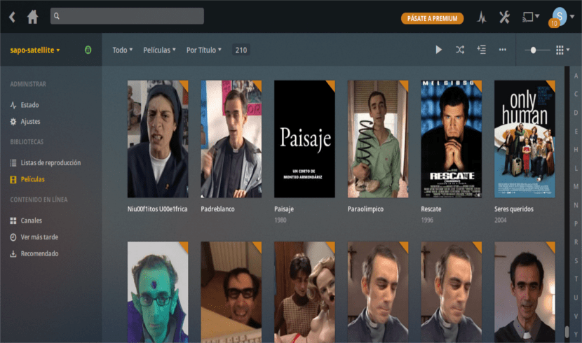 Plex interface