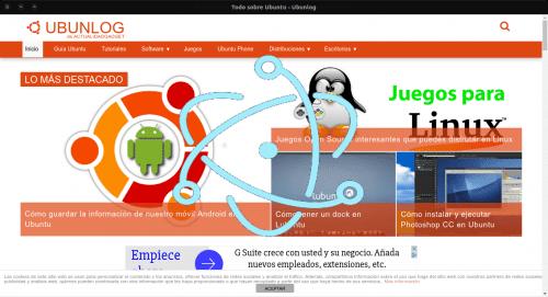 WebApp electron ubunlog