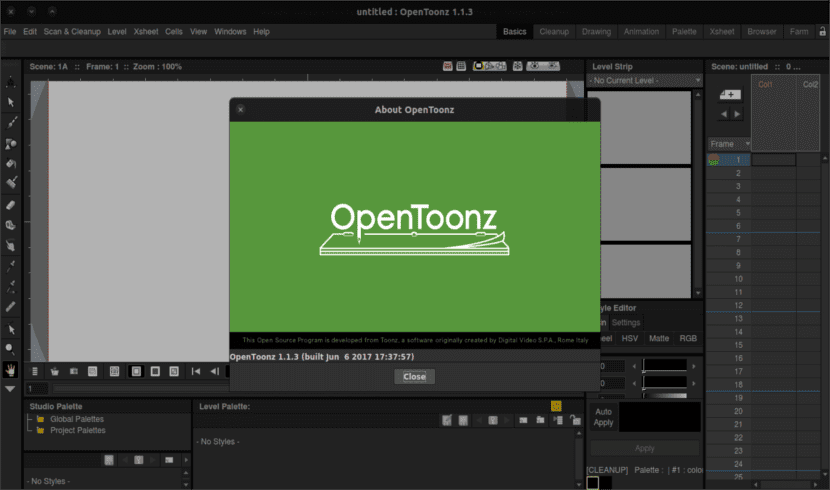 Opentoonz Animation Maker Crea Animaciones 2d Desde Ubuntu Ubunlog