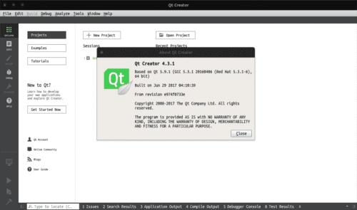 about QTCreator