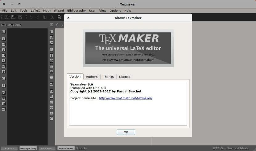 Acerca de Textmaker