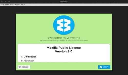 Licencia Wavebox