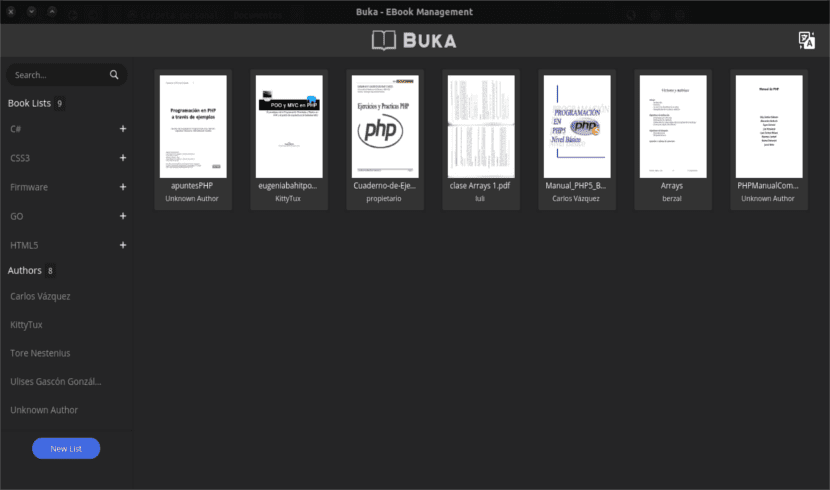 buka lista pdf