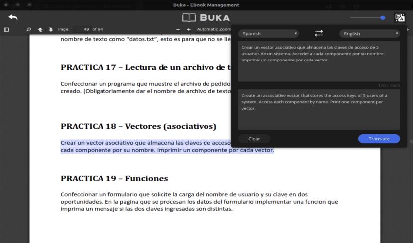 buka traductor de idiomas